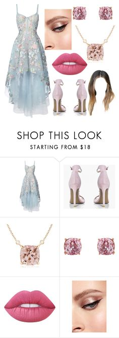 """""""Untitled #2034"""" by inocorbe ❤ liked on Polyvore featuring Notte by Marchesa, Boohoo, Humble Chic and Lime Crime"""