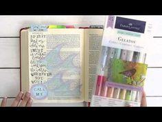 Flip-Through Video Tour of My Journaling Bible — the thinking closet