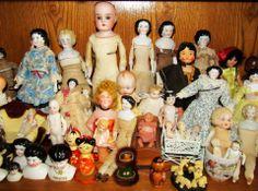 """small tiny dolls under 12"""", many for the dollhouse"""