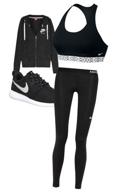 """trainer"" by skylarblanding on Polyvore featuring NIKE"