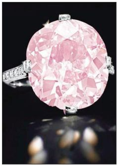 The Clark Pink Diamond Ring
