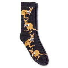 Women's Crew Socks 1-Pack Animals One Size - Xhilaration™ : Target