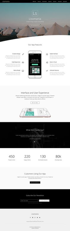 Lisomania is a modern and user friendly #Muse template for agencies…