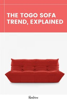 Modular living room furniture, including the coveted Togo Sofa, is the throwback '70s trend you'll sink right into. #70s #sofa #couch Modular Living Room Furniture, Best Cooling Sheets, Modular Sofa, Furniture Sale, Modern Room, Home Decor Trends, Color Trends, Love Seat, Sink