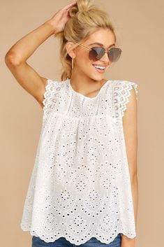 Trendy Women's Clothing - Dresses, Shoes, and Accessories Online – Page 6 – Red Dress Source by dress outfits I Dress, Dress Outfits, Fashion Dresses, Dress Lace, Dress Red, Dress Clothes For Women, Trendy Clothes For Women, White Lace Blouse, White Lace Tops