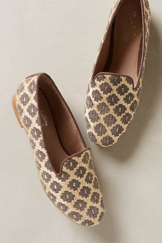 Glitzed Smoking Loafers - anthropologie.com