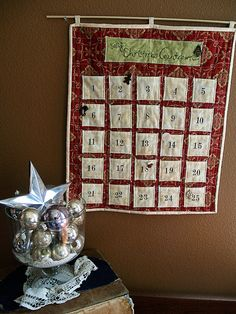 advent calendar - I will make one of these too... some year...