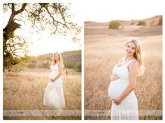 maternity photography- love the white flowy dress