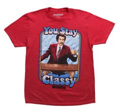 Anchorman You Stay Classy T-Shirt