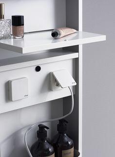 Oppbevaring - Aspen Scandinavian Bathroom Furniture, Aspen, Floating Nightstand, Sink, Vanity, Branding, Home Decor, Makeup, Image