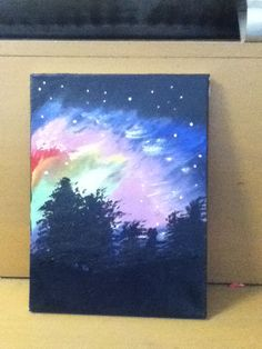 Northern Lights  #painting #canvas