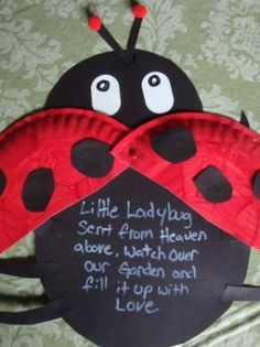 Our Ladybugs made June 2010 during our Bug theme
