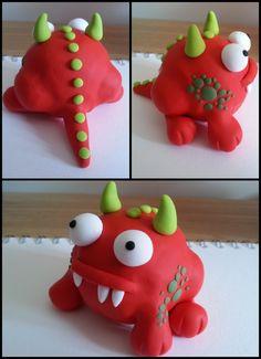 Herbert the Red Monster
