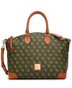 Dooney & Bourke Handbag, Gretta Signature Satchel - Dooney & Bourke - Handbags & Accessories - Macy's