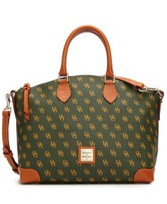 Dooney & Bourke Handbag, Gretta Signature Satchel - Dooney & Bourke - Handbags & Accessories - Macy's