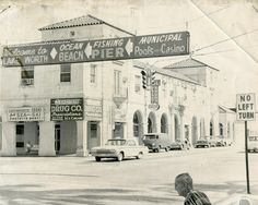 """Wes Blackman's City of Lake Worth Blog   From the July 25, 1963 Palm Beach Post: """"Which way can you go? Directional signs at Lake Avenue and Dixie Highway in Lake Worth are just slightly confusing. The large sign which overhangs the road tells the traveler to turn left to reach the beach; the smaller sign tells the traveler not to make a left turn. The smaller sign must be obeyed because Lake Worth police will be enforcing the no-left-turn ban beginning Monday."""""""