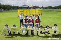 30 วันแห่งการเรียกร้องอิสระภาพ เพื่อนักกิจกรรมอาร์กติก 30 คน #FreeTheArctic30