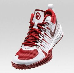 "OU featured in Nike ""Week Zero"" college football themed shoe collection."