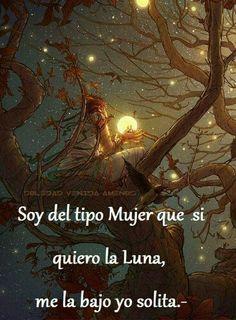 La luna para mí. ..