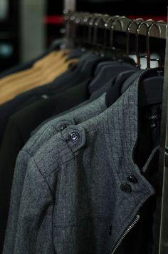 Aldo Conti Nivel 2  Teléfono : 22563569 Teléfono 2 : 22563457 Trajes para caballero, ropa de vestir y casual. Aldo Conti, Must Haves, Leather Jacket, My Style, Jackets, Fashion, Knights, Clothing, Studded Leather Jacket