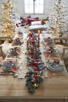 8 cm Blanc avec d/étails de Renne /à Paillettes Rouges D/écoration de Sapin de No/ël Nordique Ronde en Verre souffl/é /à la Main