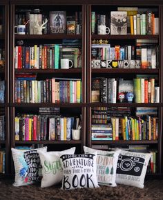 Colorful books and pillows                                                                                                                                                                                 More