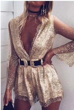 White And Gold Outfit Ideas gold embellished playsuit outfit new years eve party dress White And Gold Outfit Ideas. Here is White And Gold Outfit Ideas for you. White And Gold Outfit Ideas whitegold fashion classy outfits chic outfits.