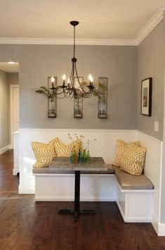 Build a Corner Booth Seating | Interior Photos of Kitchens and ...