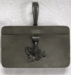 Vintage  PEWTER  SILENT BUTLER by Dasco 1940s by vintagous on Etsy, $18.00