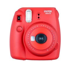 Fujifilm instax mini 8 Instant Film Camera (Raspberry) ($66) ❤ liked on Polyvore featuring fillers, accessories, camera, electronics and technology