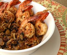 Butter Garlic Pepper Prawns