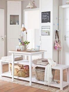 corner storage idea