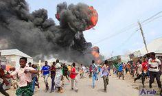 Death toll in seaport explosion in Mogadishu…