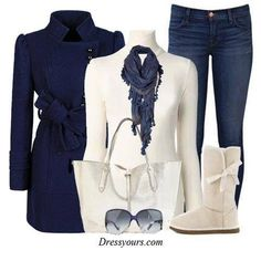 """Navy style (from """"All is Fair in Love and Fashion"""")"""