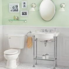 Pedestal Sink With Metal Legs Hermitage Console 92