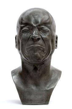 Franz Xaver Messerschmidt, Tête de caractère – L'Homme de mauvaise humeur, 1750-1800, Paris, musée du Louvre, département des Sculptures