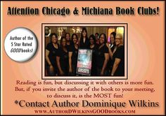 Author Dominique Wilkins and W.O.W. Book club