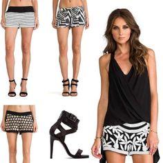 Outfits Verano 2014: Shorts CentralMODA.COM