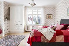 Bilder, Sovrum, Beige, Säng, Tapet, Romantiskt - Hemnet Inspiration