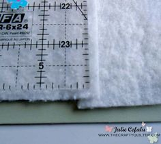 How to piece batting scraps from The Crafty Quilter- by Julie Cefalu ...It's really easy to piece together a few scraps of batting to make one big piece.  There are several methods of doing this, and today I'll talk about how to sew your pieces together using a zig zag stitch on your sewing machine.