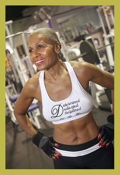 At 75, Ernestine Sheperd is the Guinness Book of Records' oldest competitive female bodybuilder. Impressive, eh?