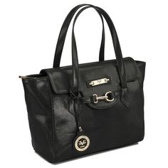 c5e0b144d5ed Smooth and sleek yet unquestionably powerful  It s the Versace Borsa  Signature Tote. BNY Handbags · Classic Black