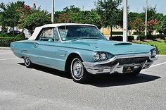 Magnificent Driver 1965 Ford Thunderbird Convertible 390 V 8 Loaded NO RESERVE