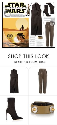 """Star Wars: The Force Awakens"" by krischigo on Polyvore featuring Theory, Rachel Zoe, Sergio Rossi, Louis Vuitton, Eddie Borgo, starwars and contestentry"