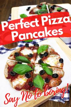 These pizza pancakes are perfect for lunch or dinner – super simple and full of the most exciting base and taste combos make it the best of both worlds. Enjoy this delicious, vegetarian recipe that the whole family will love! #vegetarian #pizza #pancakes #lunch #dinner #recipe #easyrecipe #quickmeal Vegetarian Zucchini Lasagna, Vegetarian Recipes Dinner, Dinner Recipes, Breakfast Recipes, Pizza Recipes, Veggie Recipes, Easy Recipes, Healthy Recipes, Creative Pizza