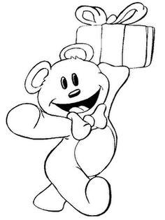 Desenhos e Riscos: Ursinhos para Colorir