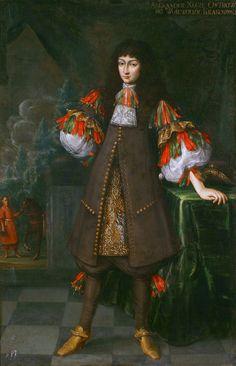 Portrait of Aleksander Zasławski-Ostrogski (1650-1682) by Andreas Stech, ca. 1670 (PD-art/old), National Arts Museum of the Republic of Belarus