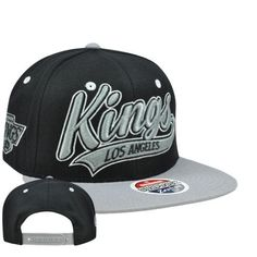 NHL LNH LA Los Angeles Kings Swoop 32/5 Flat Bill ZHat Zephyr Snapback Hat Cap by Zephyr. $27.95. Stand out in the crowd AND own a hat that will last forever with this high quality hat made by the incomparable Zephyr brand. Team name embroidered on front panel in 3D. Zephyr logo embroidered on left side panel. Team logo embroidered on right side panel. Features Snapback closure, flat bill, and green underbrim. Authentic Zephyr merchandise. Officially Licensed NHL...