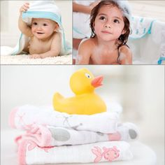 aden + anais Hooded Towel & Washcloth Set - Bath Time - Cotton Babies Cloth Diaper Store  #CottonBabies