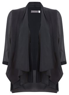 Navy Waterfall Jacket | Jackets & Leather | MintVelvet #MintVelvet #AW15 #MVAW15